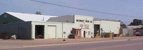 Midway Iron Recycling Building